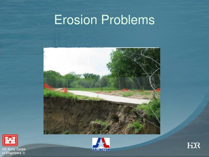 Erosion Problems