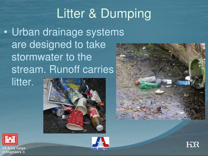 Litter & Dumping