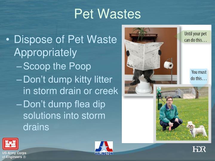 Pet Wastes