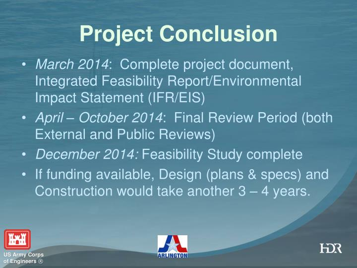 Project Conclusion