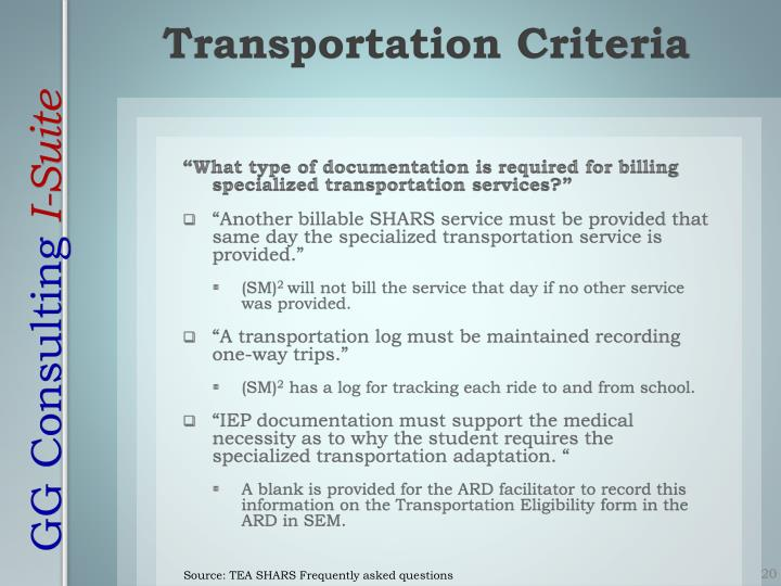 """""""What type of documentation is required for billing specialized transportation services?"""""""