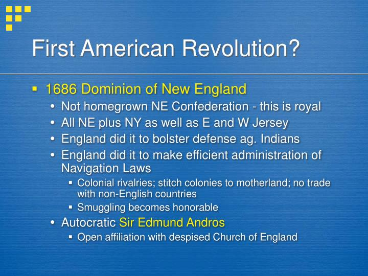 First American Revolution?