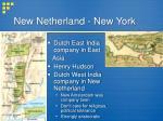 new netherland new york