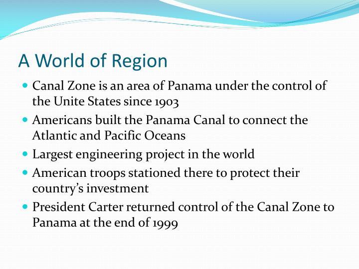 A World of Region
