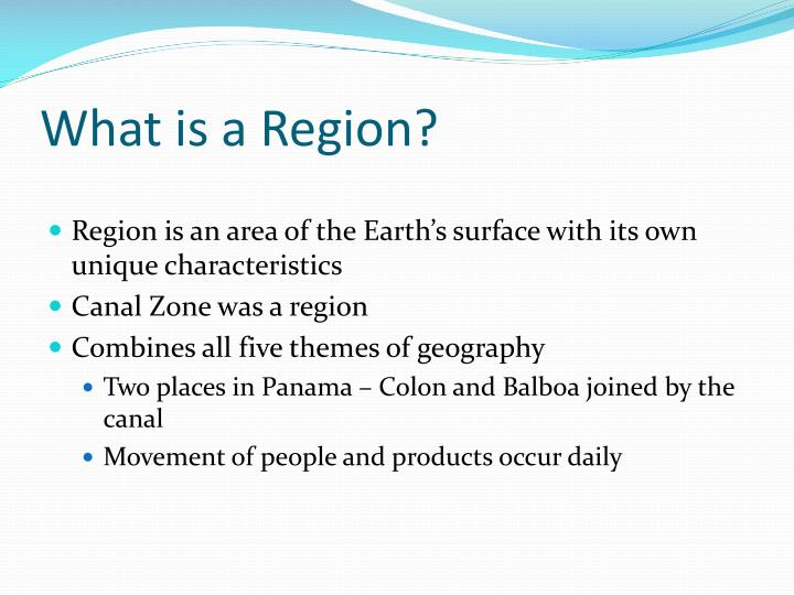What is a region