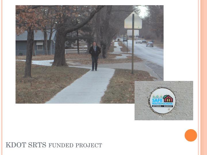 KDOT SRTS funded