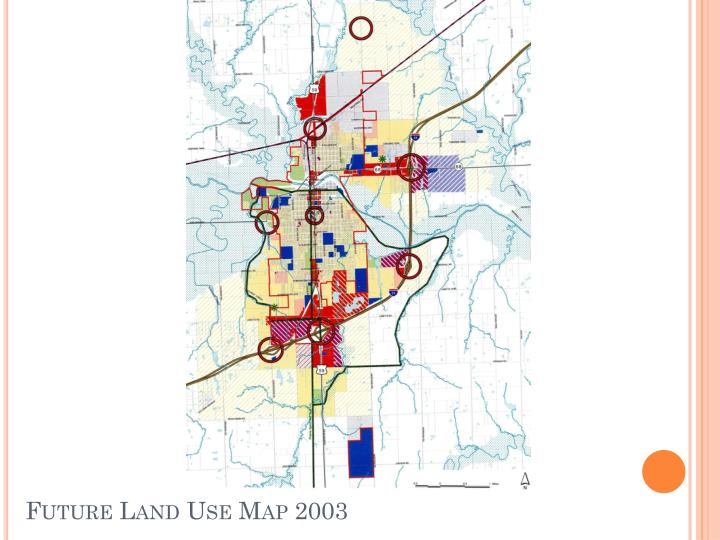 Future Land Use Map 2003