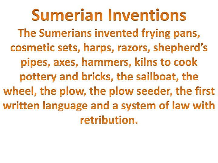 Sumerian Inventions