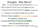 droughts why worry