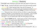solutions electricity