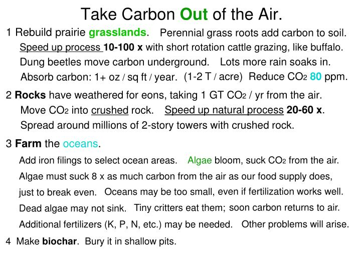 Take Carbon