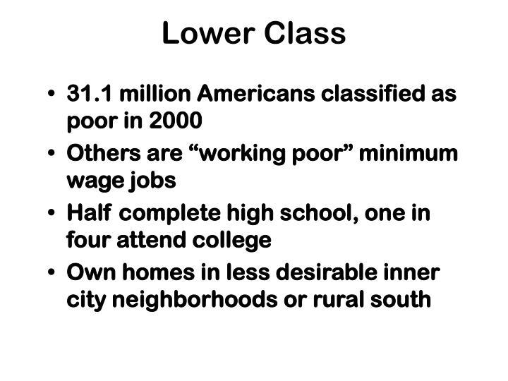 Lower Class