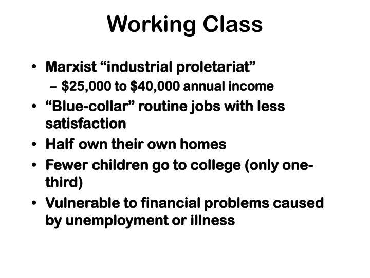 Working Class