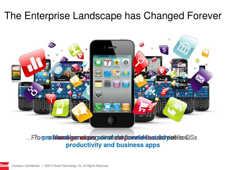 The Enterprise Landscape has Changed Forever