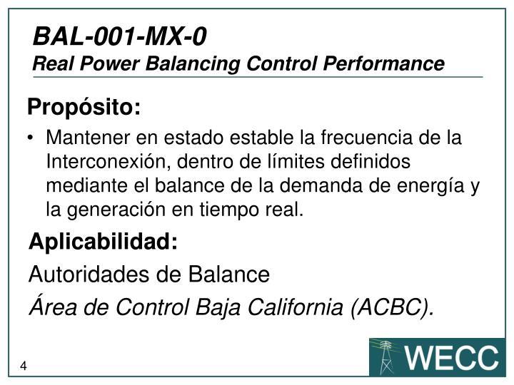 BAL-001-MX-0
