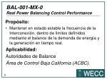 bal 001 mx 0 real power balancing control performance