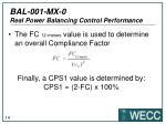 bal 001 mx 0 real power balancing control performance10
