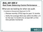 bal 001 mx 0 real power balancing control performance20