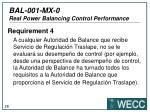 bal 001 mx 0 real power balancing control performance22