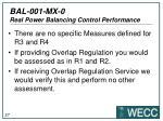 bal 001 mx 0 real power balancing control performance23