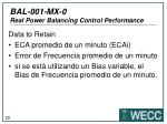bal 001 mx 0 real power balancing control performance25