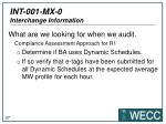 int 001 mx 0 interchange information7