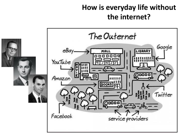 How is everyday life without the internet?