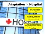 adaptation in hospital