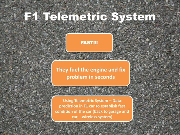 F1 Telemetric System
