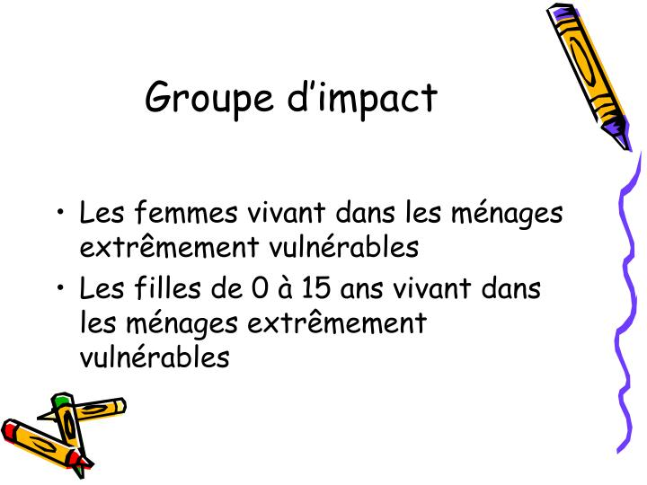 Groupe d'impact