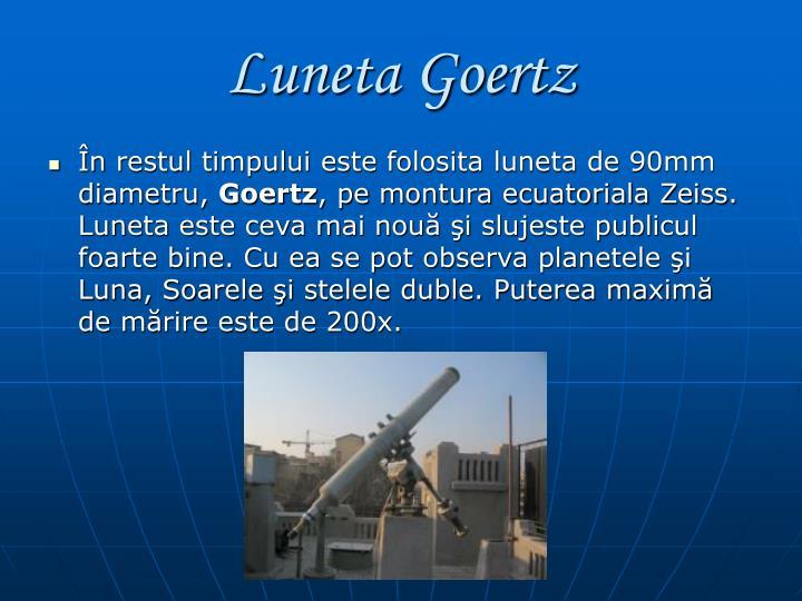 Luneta Goertz