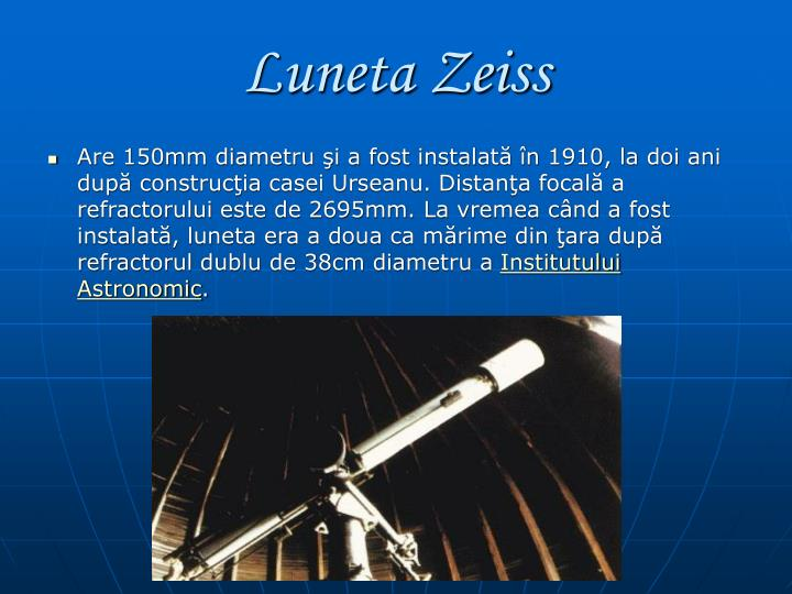 Luneta Zeiss