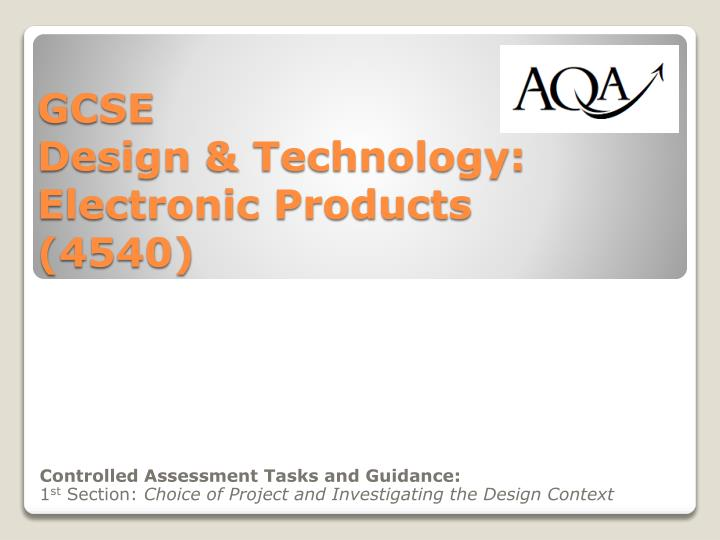 aqa design and technology product design coursework specification Product design coursework documents welcome aqa design and technology – resistant gcse design and technology qualification, specification.