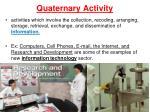 quaternary activity1