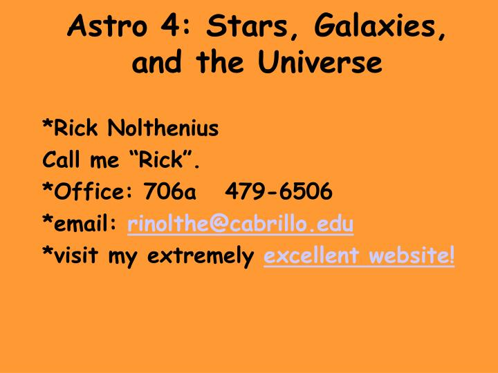 astro 4 stars galaxies and the universe