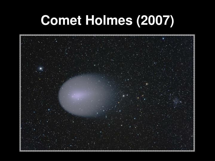 Comet Holmes (2007)