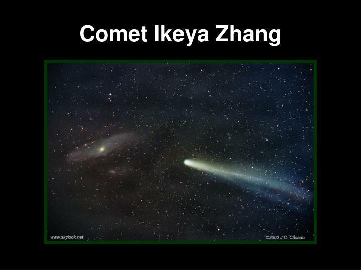 Comet Ikeya Zhang