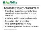 secondary injury assessment