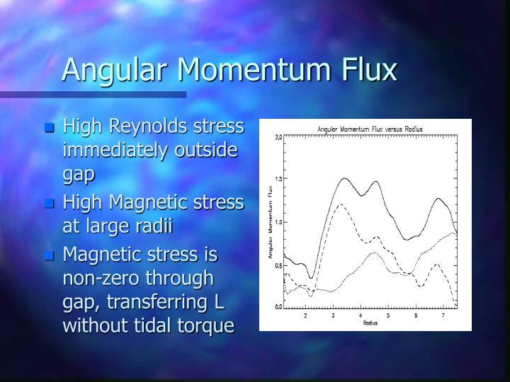 Angular Momentum Flux