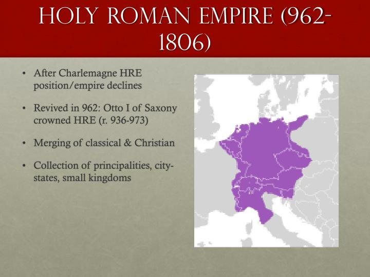 Holy Roman Empire (962-1806