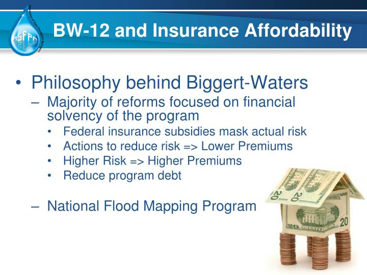 BW-12 and Insurance Affordability