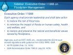 sidebar executive order 11988 on floodplain management1