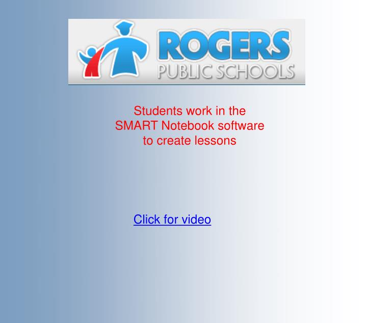 Students work in the