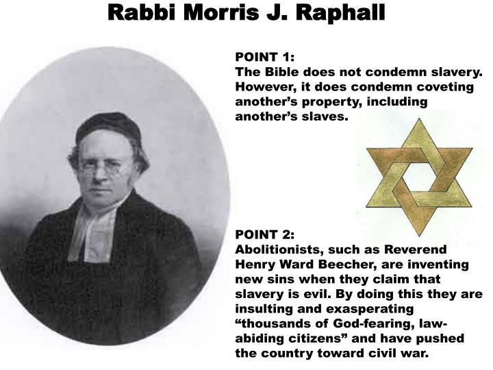 Rabbi Morris J. Raphall