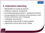 2 interactive teaching