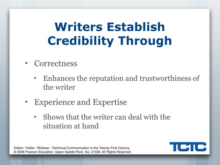 Writers Establish