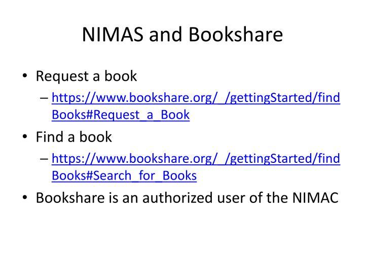 NIMAS and