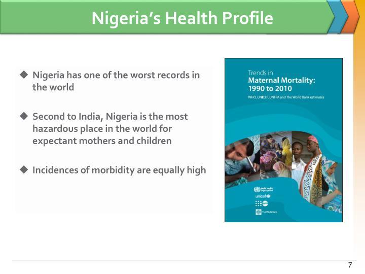 Nigeria's Health Profile
