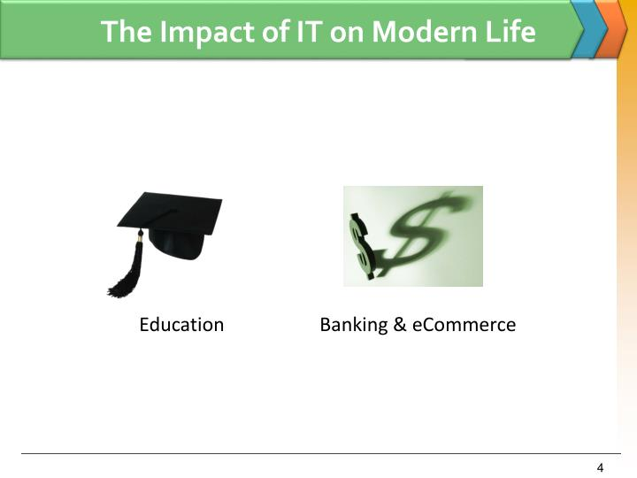 The Impact of IT on Modern Life