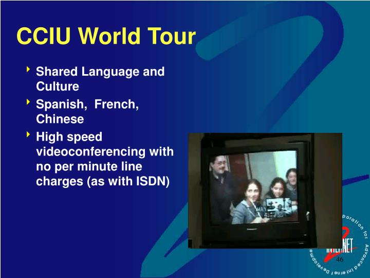CCIU World Tour